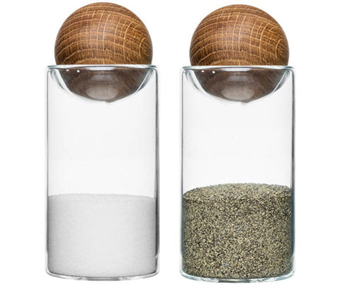 Salt & Pepper Shakers by Sagaform