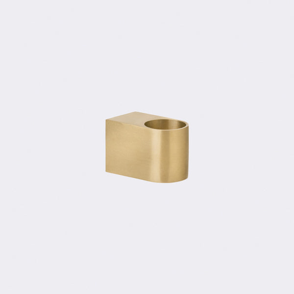 Block Candle Holder By Ferm Living The Modern Shop