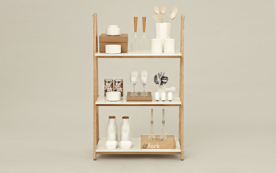 One Step Up Bookcase Low by Normann Copenhagen