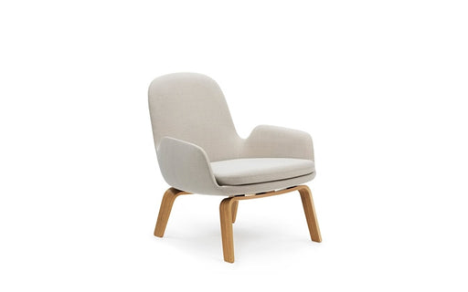 Era Lounge Chair Low w/ Wood Legs by Normann Copenhagen