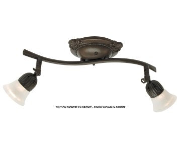 1802 Ceiling Track Light by Signature M&M