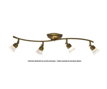 1804 Ceiling Track Light by Signature M&M