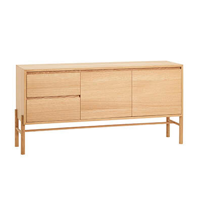 Oak Dresser w/ Drawers, FSC by Hübsch