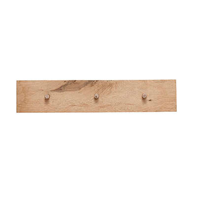 Coat Rack w/ 3 Hooks, FSC by Hübsch