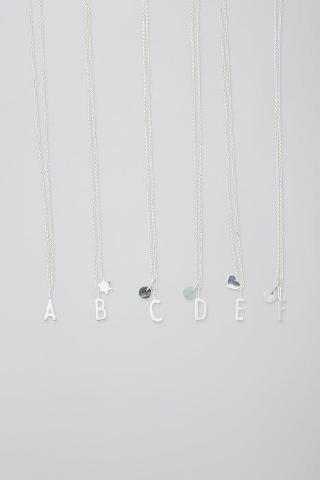 Small Archetype Letter Charm ( A-Z ) by Design Letters