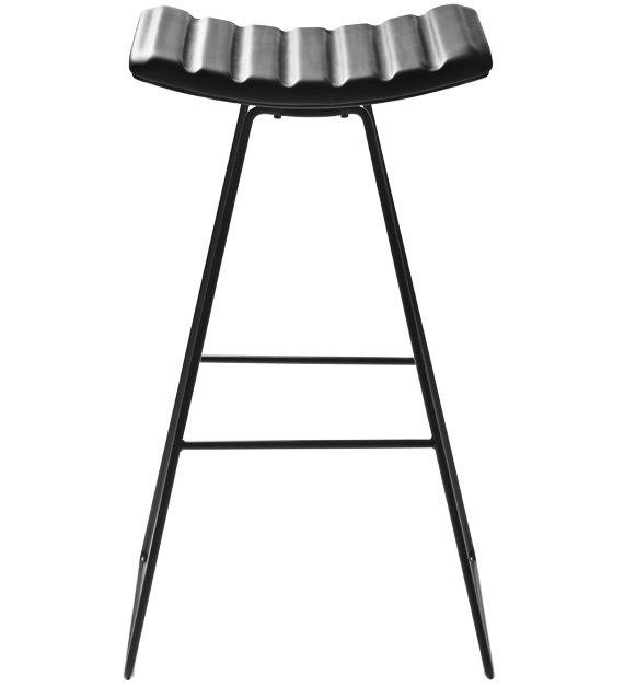 Leroy A3 Fully Upholstered BarStool by Gubi