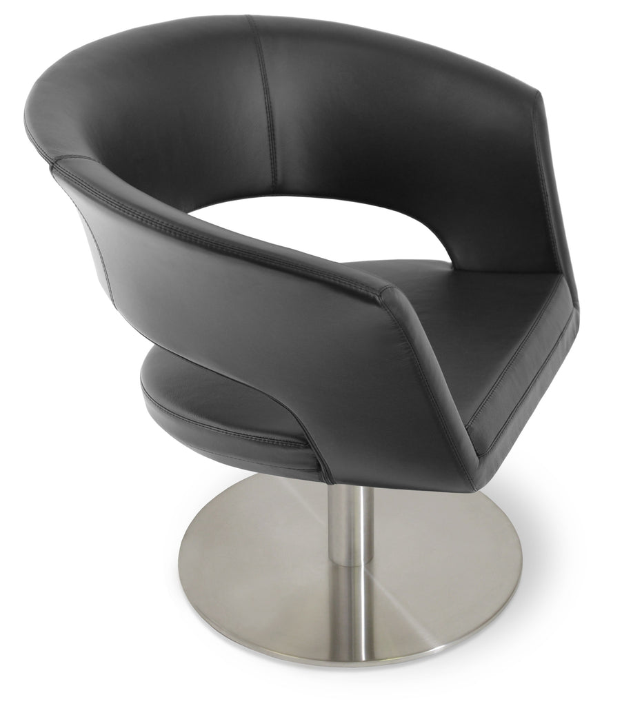 Fantastic Ada Swivel Round Chair By Soho Concept Bralicious Painted Fabric Chair Ideas Braliciousco