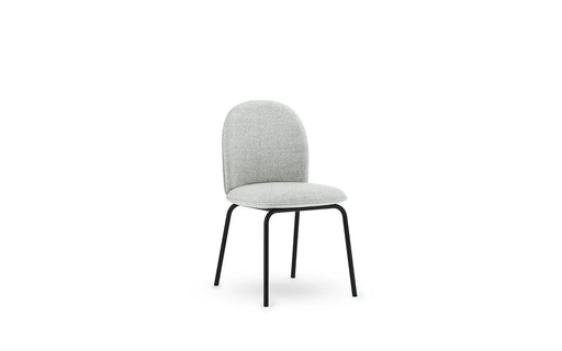 Ace Chair Full Upholstery, Black Steel by Normann Copenhagen
