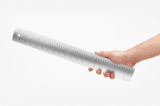 Aluminum Ruler by Areaware