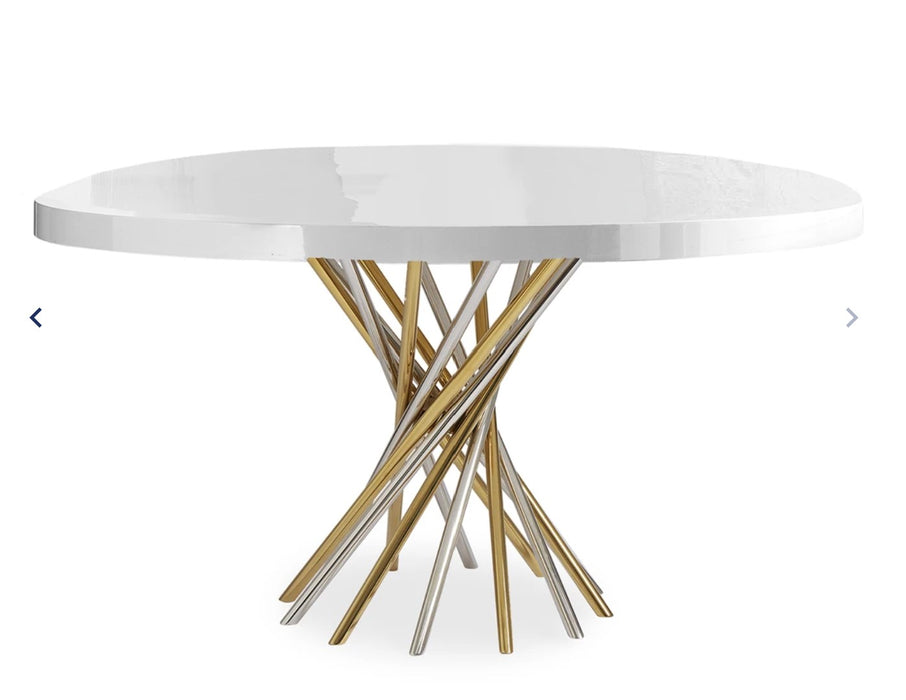 Electrum Dining Table by Jonathan Adler