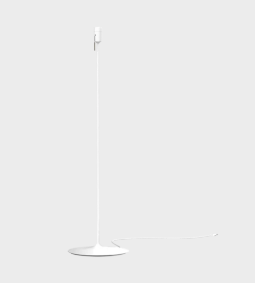 Eos White Feather Floor Lamp by UMAGE