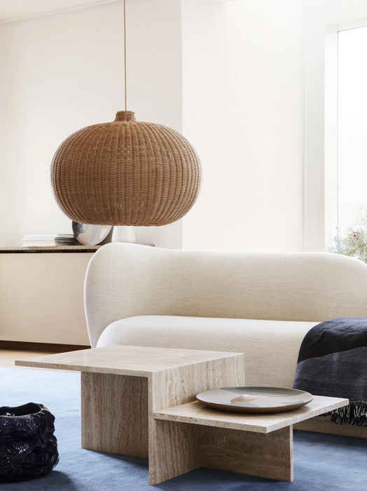 Braided Lamp Belly Shade by Ferm Living
