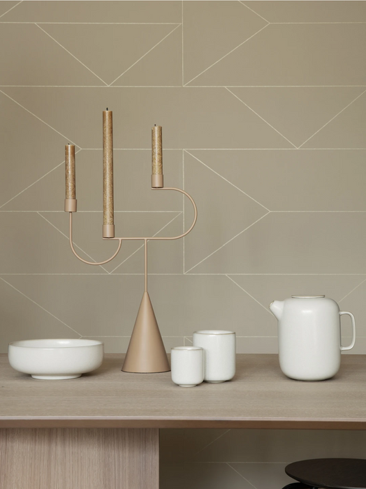 Sekki Cups, glazed, by Ferm Living