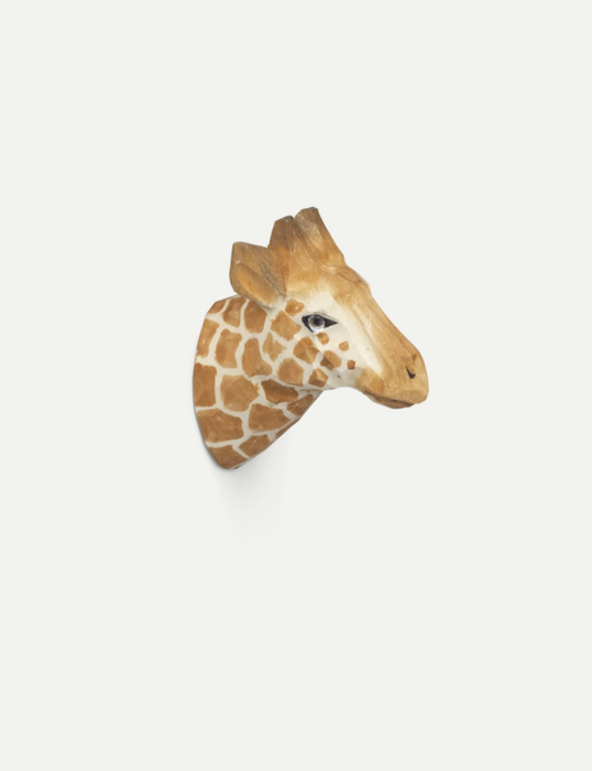 Animal Hand Carved Hook by Ferm Living