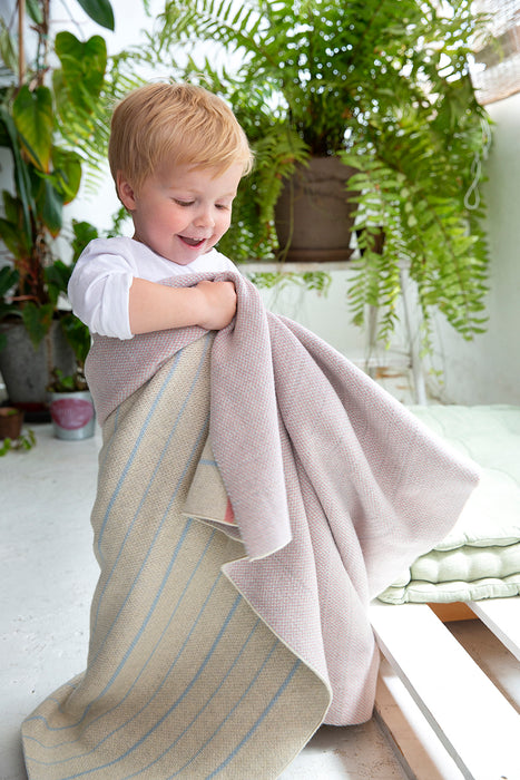 Kitted Baby Blanket Notebook by Lorena Canals