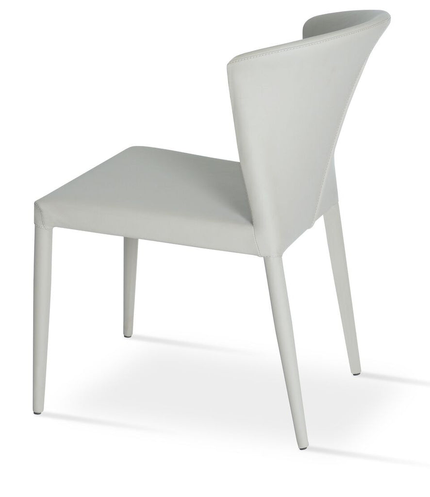 Capri Full Upholstered Stackable Dining Chair by Soho Concept