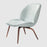 Beetle Lounge Chair Fully Upholstered w/ Wood Base by Gubi