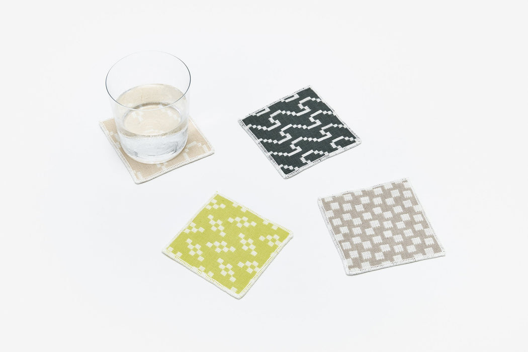 Bitmap Textile Coasters by Areaware