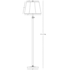 Bruno Club Floor Lamp