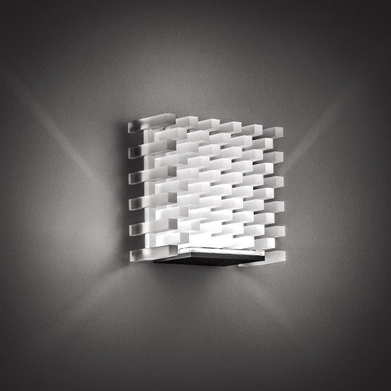 Naica frost wall light by Cini&Nils