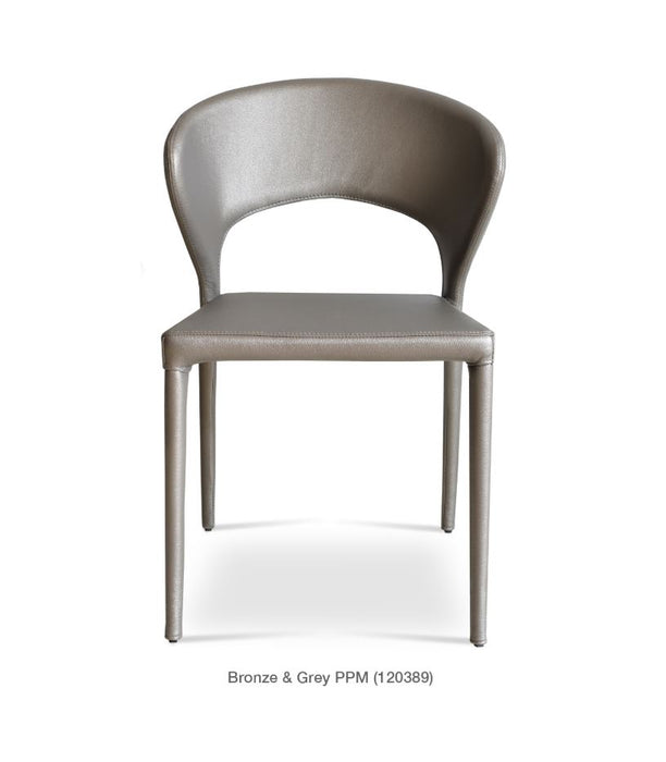 Prada Fully Upholstered Stackable Chair by Soho Concept