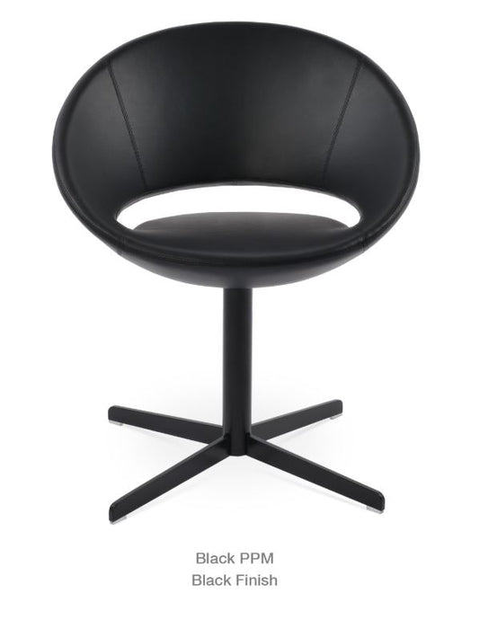 Crescent 4 Star Swivel Chair by Soho Concept