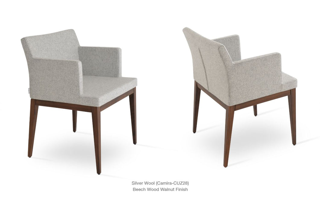 Soho Wood Arm Chair by Soho Concept