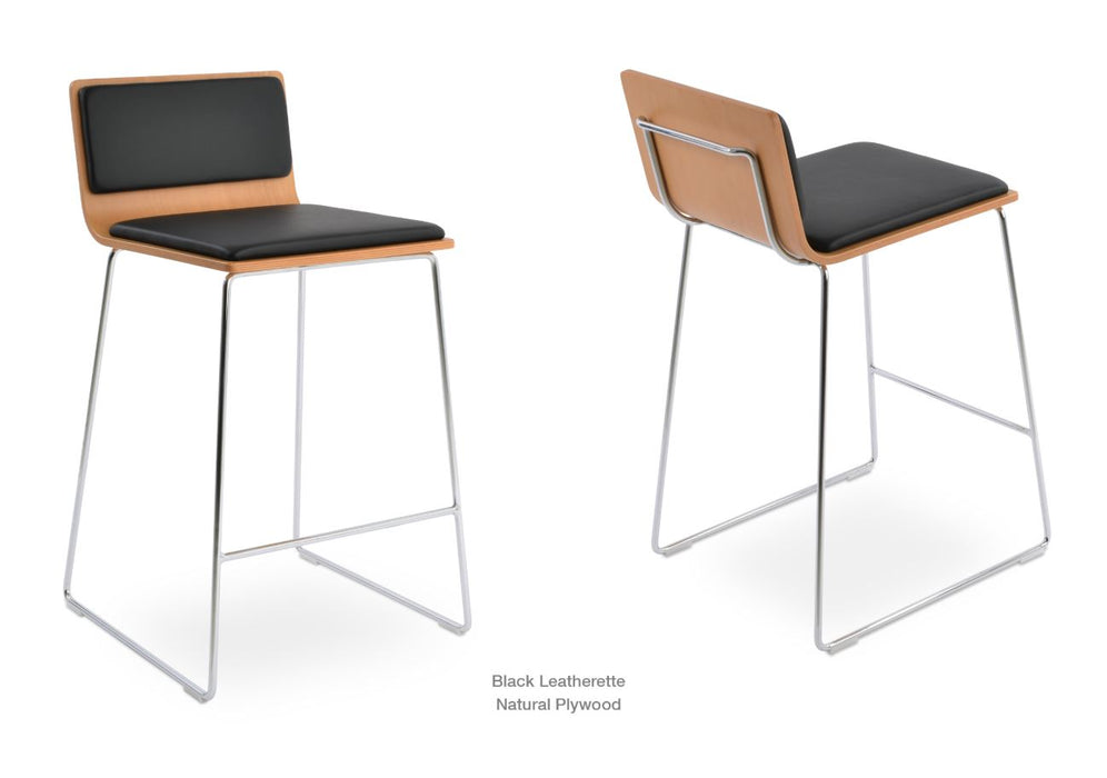 Corona Wire Counter/Bar Stool by Soho Concept