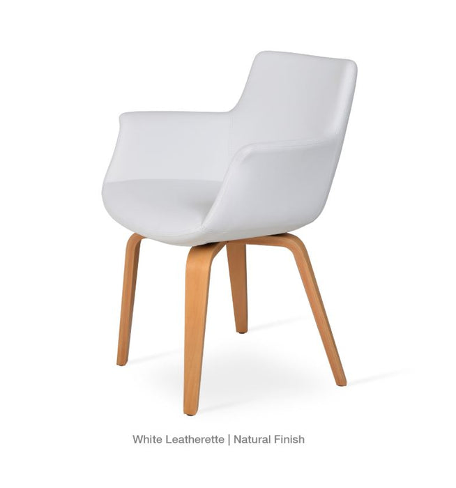 Bottega Arm Plywood Chair by Soho Concept