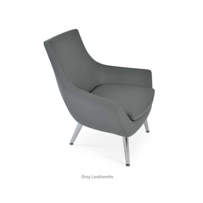 Rebecca Metal Arm Chair by Soho Concept