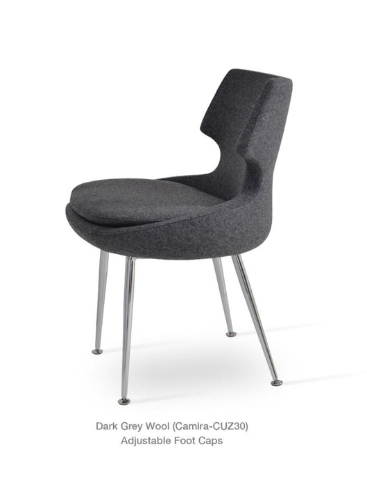 Patara Metal Dining Chair by Soho Concept