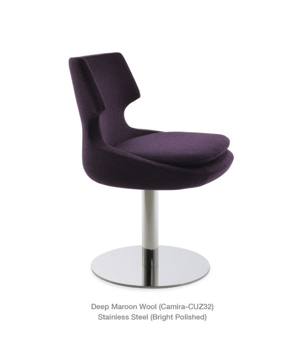 Patara Round Swivel Chair by Soho Concept