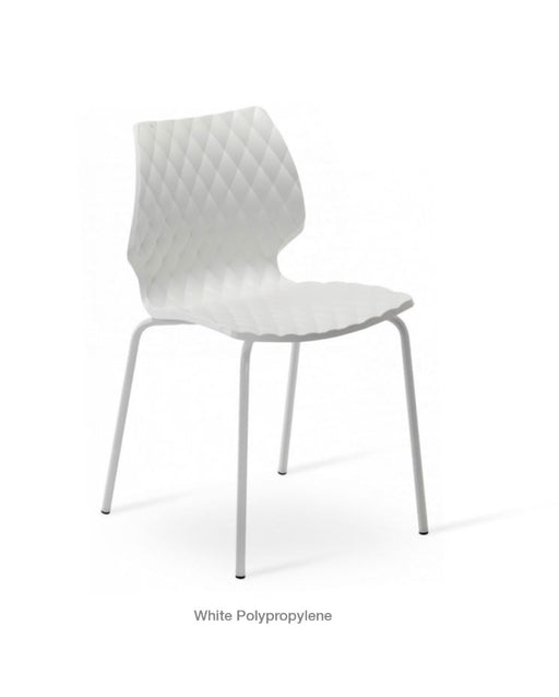 Uni 550 Side Chair by Metal Mobil (Contract Minimum order 5 pieces)