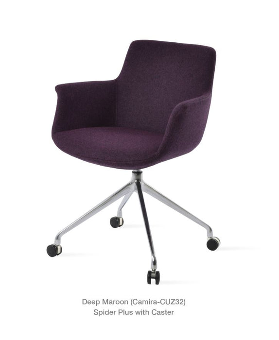 Bottega Arm Spider Swivel Chair by Soho Concept