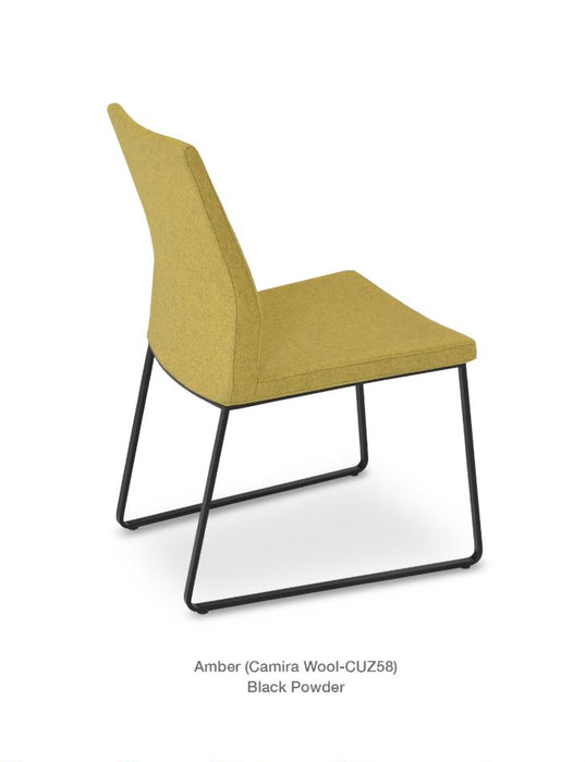 Pasha Sled Chair by Soho Concept