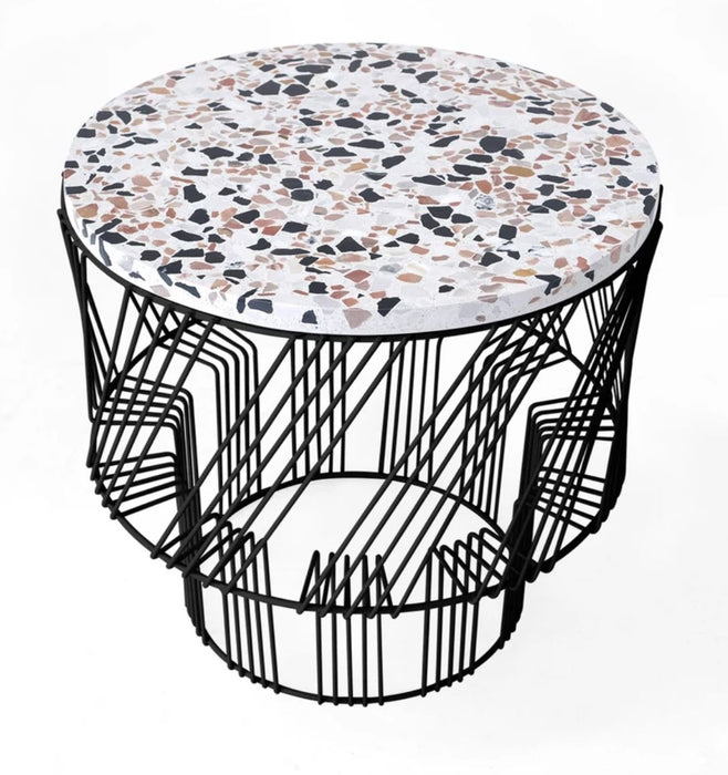 Terrazzo Side Table by Bend (Made in USA)