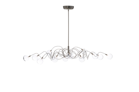 Harco Loor Bubbles Oval Suspension Light