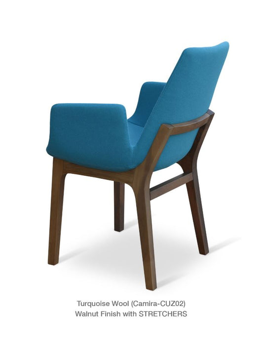 Eiffel Wood Arm Chair by Soho Concept