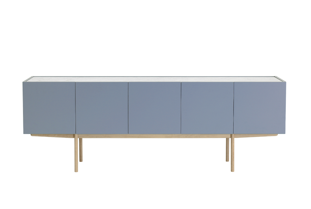 Luc Deluxe 200 Cabinet with 5 Doors by Asplund