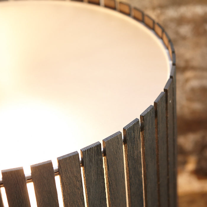 Luz Oculta Wood Table Lamp by ZANEEN design