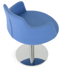 Dervish Round Swivel Chair by Soho Concept