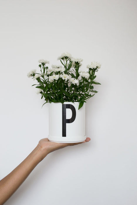 Arne Jacobsen Design Letters Plant Pot