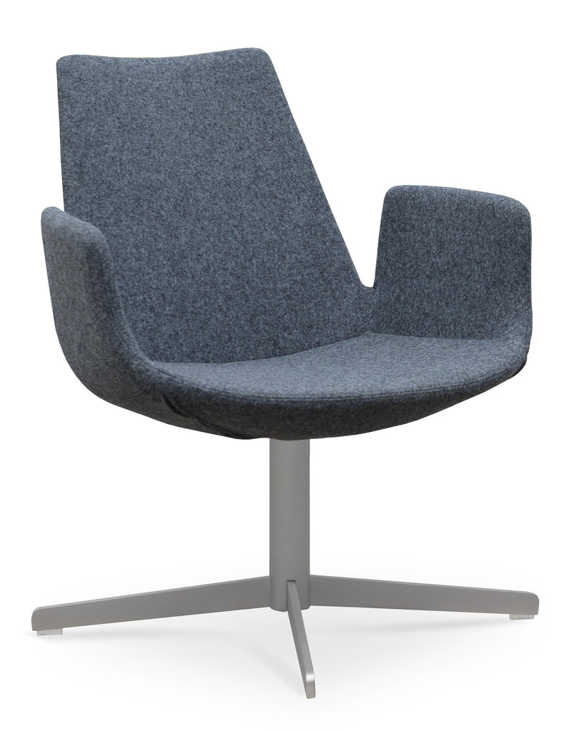 Eiffel 4 Star Arm Swivel Chair by Soho Concept