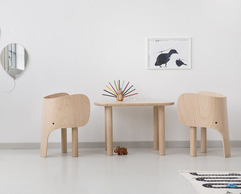 Elephant Chair & Table by Elements Optimal