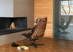 Scandia Senor Vipp Easy Chair by Fjordfiesta