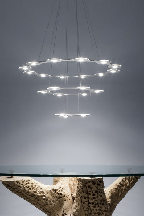 Lumen Center Flat Saturn 1, 2, 3 Suspension Light