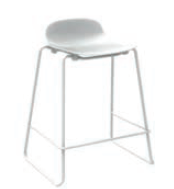 Form Barstool 65 cm Stacking (All variants) by Normann Copenhagen