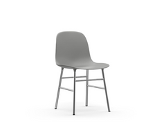 Form Chair Steel & Chrome by Normann Copenhagen