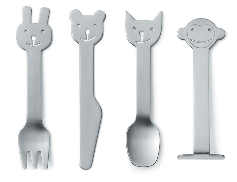 Animal Friends Children's Cutlery by Gense
