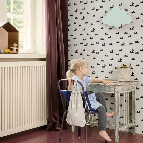 Rabbit Wallpaper by Ferm Living